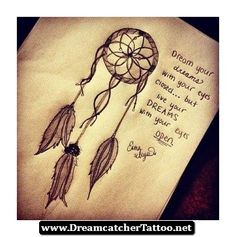 Dreamcatcher Tattoos With Quotes 10 - http://dreamcatchertattoo.net/dreamcatcher-tattoos-with-quotes-10/
