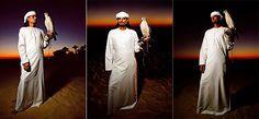 Syl Arena: Anatomy of a Shoot: Dubai Falconer at Sunset