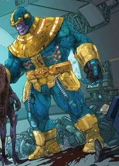 Thanos by Kenneth Rocafort