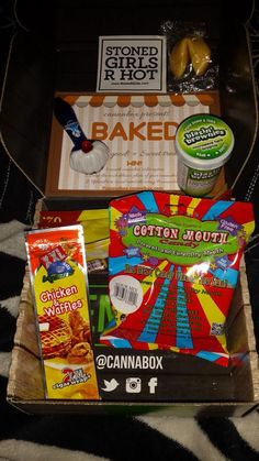 Cannabox is the most trusted weed accessory subscription box. Monthly themed boxes full of premium glass bongs, glass pipes, smoking essentials and 420 gear. Weed Box, Marijuana Funny, Smoke Cloud, Cannabis Edibles, 420 Girls, Pipes And Bongs, Monthly Themes, Chicken And Waffles, Best Candy
