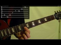 ▶ Guitar Lesson: Fast Arpeggios WITH TABS - YouTube