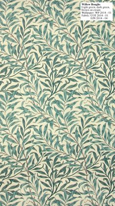 William Morris Willow Boughs - WP 2614-1