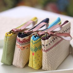 2016 Durable Rainbow Dots Canvas Zip Coin Bag Case Key Card Holder Pouch Purse Wallet  8OLJ #>=#>=#>=#>=#> Click on the pin to check out discount price, color, size, shipping, etc. Save and like it!