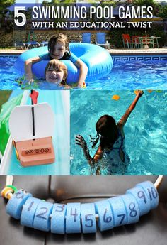 5 Swimming Pool Games with an Educational Twist