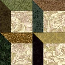 Attic Shadows- free pdf for pillow to go with quilt top