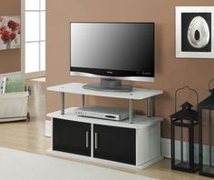 "Bedroom TV Stand Cabinet Entertainment Console Storage Media Center Storage 36"" #CC #Contemporary"