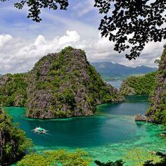 Coron Bay, Busuanga Island. Philippines