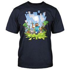 Camiseta Minecraft Adventure Talla M