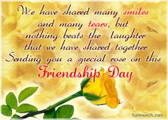 Happy Friendship Day 2016 Quotes and Sayings Images - Special Thoughts Images Wallpapers, Photos
