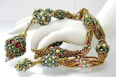 beaded beads - necklace