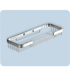 Gedy by Nameeks Wire Double Soap Holder in Chrome - 241 - Mounted Soap Dishes - Bathroom Hardware - Bed & Bath Bathroom Containers, Bathroom Baskets, Bathroom Wall, Bathtub Accessories, Rectangular Baskets, Shower Basket, Double Shower, Shower Shelves, Bathtub Shower