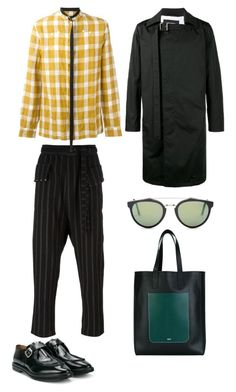 """""""mens street style"""" by statuslusso ❤ liked on Polyvore featuring DAMIR DOMA, Raf Simons, RetroSuperFuture, Alexander McQueen, AMI, men's fashion and menswear"""