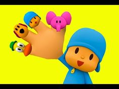 Play Doh Pocoyo Finger Family Song Nursery Rhymes for Children and Kids - YouTube