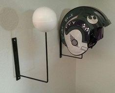 helmet stand DIY - Google Search