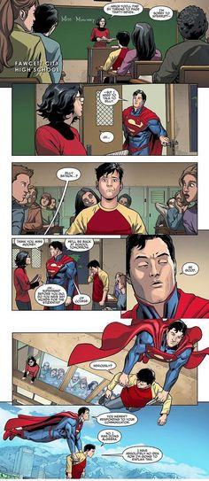 Superman and Billy Batson (Captain Marvel) Heros Comics, Marvel Dc Comics, Anime Comics, Funny Comics, Batman, Superman, Marvel Universe, Captain Marvel Shazam, Univers Dc