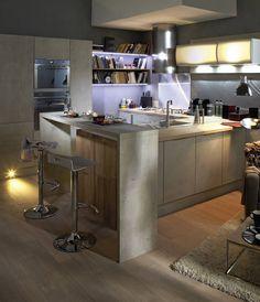 1000 images about cuisine on pinterest plan de travail grey kitchens and merlin. Black Bedroom Furniture Sets. Home Design Ideas