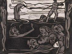Am Ende By Max Pechstein ,1906