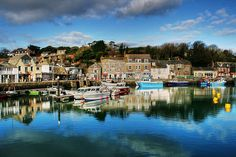Padstow Harbour, Cornwall, UK