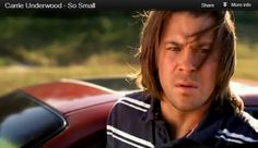 Christian Kane in Carrie Underwood's video for 'So Small'.  Did you know Christian was in the video?  Check it out here:  thecountrysite.co...