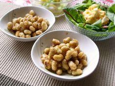 リクエスト給食1位の大豆の甘辛揚げの画像