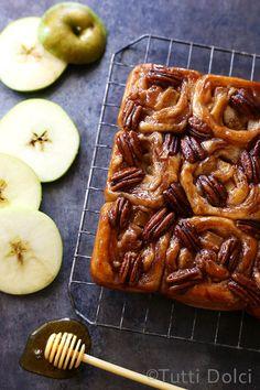 apple honey pecan sticky buns