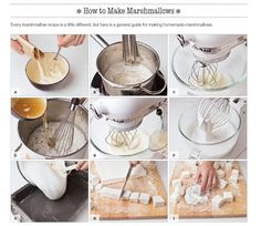 Homemade Marshmallows from The Sweet Book of Candy Making