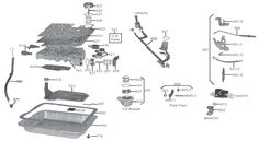 GM 4L60E Solenoid Kit Master Epc Shift Tcc Pwm 32 AcDelco NEW 199602 74420AK