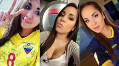 La periodista que alienta a Ecuador para ganar su primera Copa América