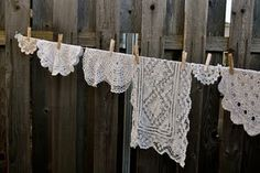You can never have too many doilies:)