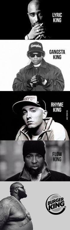 He's a rap god too. buddha