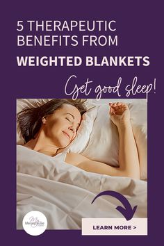 "Therapeutic Weighted Blanket | So, what makes weighted blankets beneficial? Well, the pressure of the blanket's extra weight provides therapeutic value! This pressure, also known as ""deep pressure touch"", triggers responses in the nervous system that can lower your heart rate, improve breathing and promote the overall quality of your sleep! #TherapeuticWeightedBlanket #EffectiveWeightedBlankets #WeightedBlanketsPressureTherapy Menopause Relief, Menopause Symptoms, Organic Supplements, Weighted Blanket, Good Sleep, Heart Rate, Nervous System, Home Remedies, No Response"