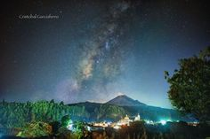 Milky way over the little town by Cristobal Garciaferro Rubio on 500px