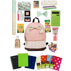 Back to school essentials -the backpack is amazingg!