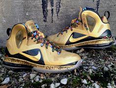 nike lebron 9 elite un watch the throne 3 Nike LeBron 9 Elite Un Watch The Throne by DeJesus Customs