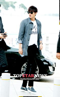 2014-9-26 at Incheon Airport to Singapore | Lee Min Ho