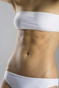 How to tone the area under your belly button