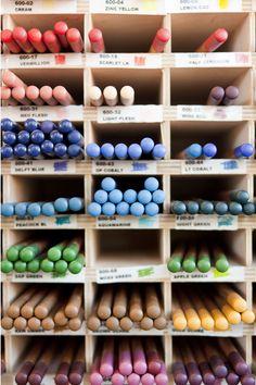 Colored pencils & other art supplies - Wet Paint Art Supply. © Kristine Erickson Photo