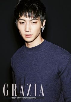 JB (GOT7)séance photo pour le magazine de mode GRAZIA Korea