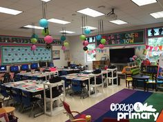 Classroom Reveal Pride and Primary 2015-2016
