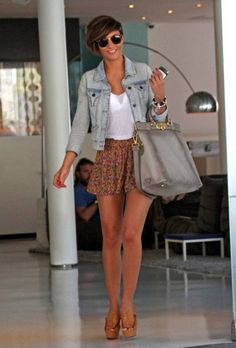 i want that light jean jacket so bad!