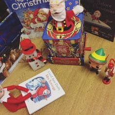 Elf On The Shelf 2016 | Loki is reading our Christmas Eve stories to his North Pole pals - and he's brought a new book for us to add to our collection! #OurElfOnTheShelf