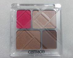 Catrice Graphic Grace Quattro Eyeshadow – C01 Linear Lines  #catrice #eyeshadow