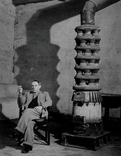 BRASSAi. Picasso in His Studio, Rue des Grands-Augustins, 1939