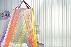 How to Make a Bed Canopy for a Little Girl (11 Steps) | eHow