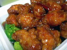 #RECETAS_en_ESPAÑOL Cocina China: General Tso's Chicken http://cocina-china.blogspot.com.es/2008/01/general-tsos-chicken.html