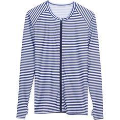 """""""Stunner"""" - Women's Long Sleeve Rash Guard Shirt Zipper UPF 50+"""