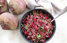 סלט סלק חי וחמוציות ברוטב בלסמי Food Processor Recipes, Salads, Recipies, Cooking, Recipes, Kitchen, Brewing, Salad, Cuisine