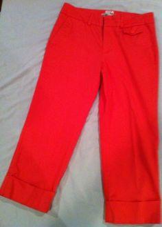 Old Navy Pants Women Size 10 Just Below the Waist Stretch Inseam 23 Waist 30-32