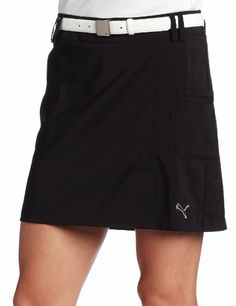 $65.00 awesome Puma Women's Golf Tech A Line Skirt