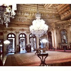"""See 16761 photos and 798 tips from 160693 visitors to Dolmabahçe Sarayı. """"Located in the Besiktas district of Istanbul, the Dolmabahce Palace is a. Ottoman Empire, Ceiling Lights, Landscape, Palaces, Architecture, Emperor, Chandeliers, Castles, Turkey"""